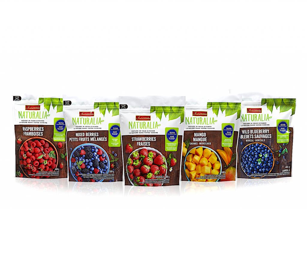 packaging for naturalia