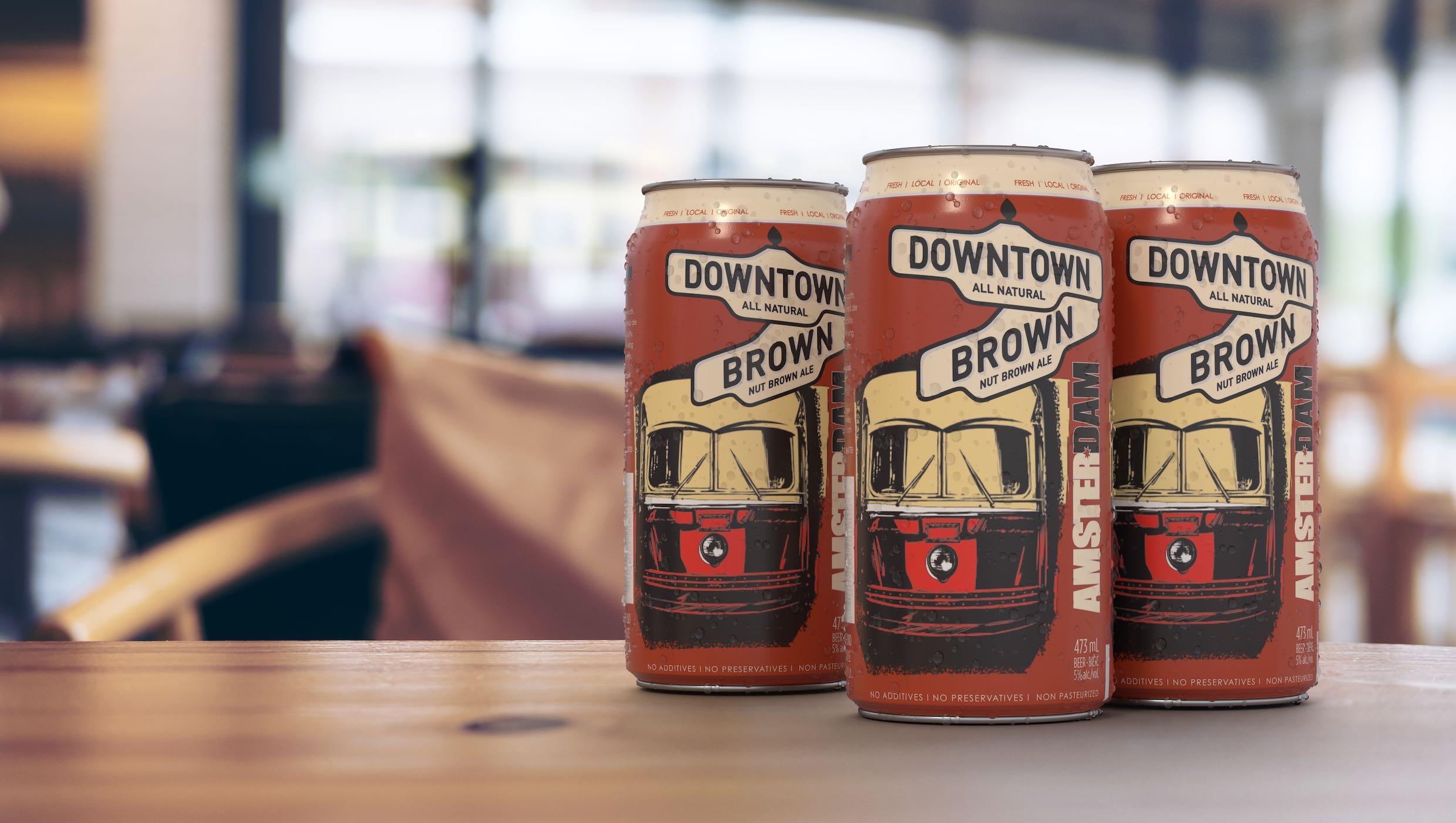 Amsterdam Brewery - Downtown Brown Hero Image