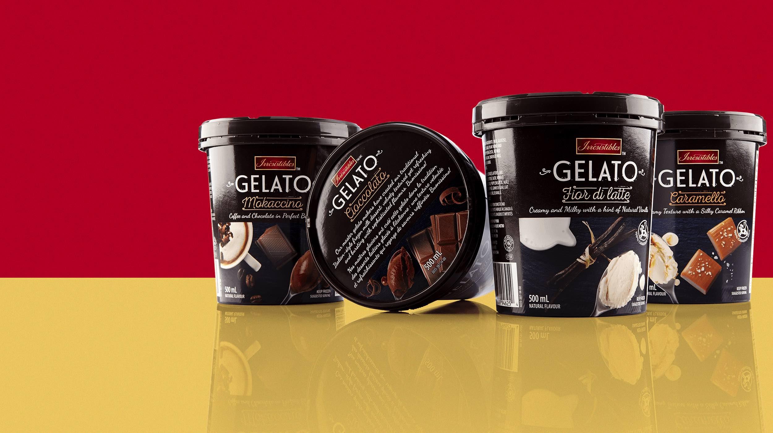Metro's Irresistibles Gelato Hero Image